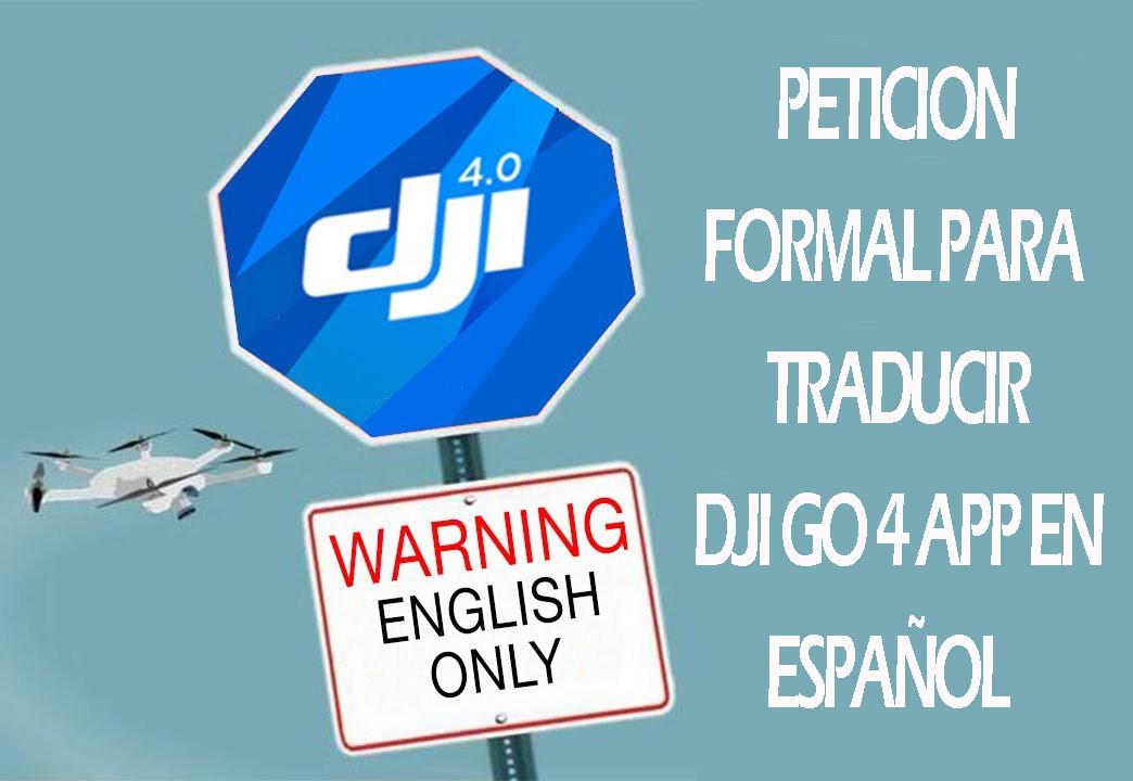 DJI GO 4 en Español