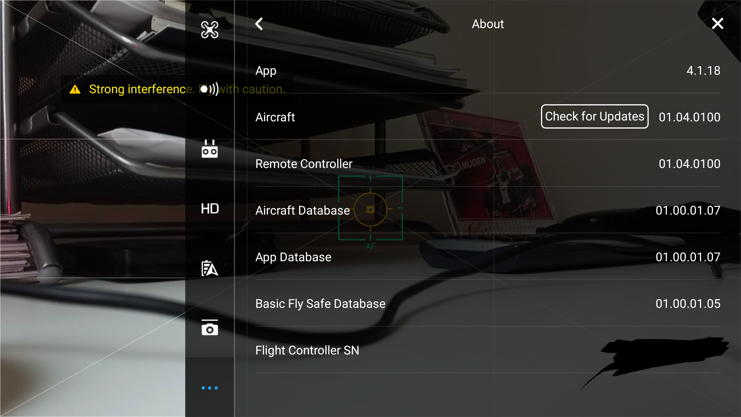 how long does a dji firmware update take