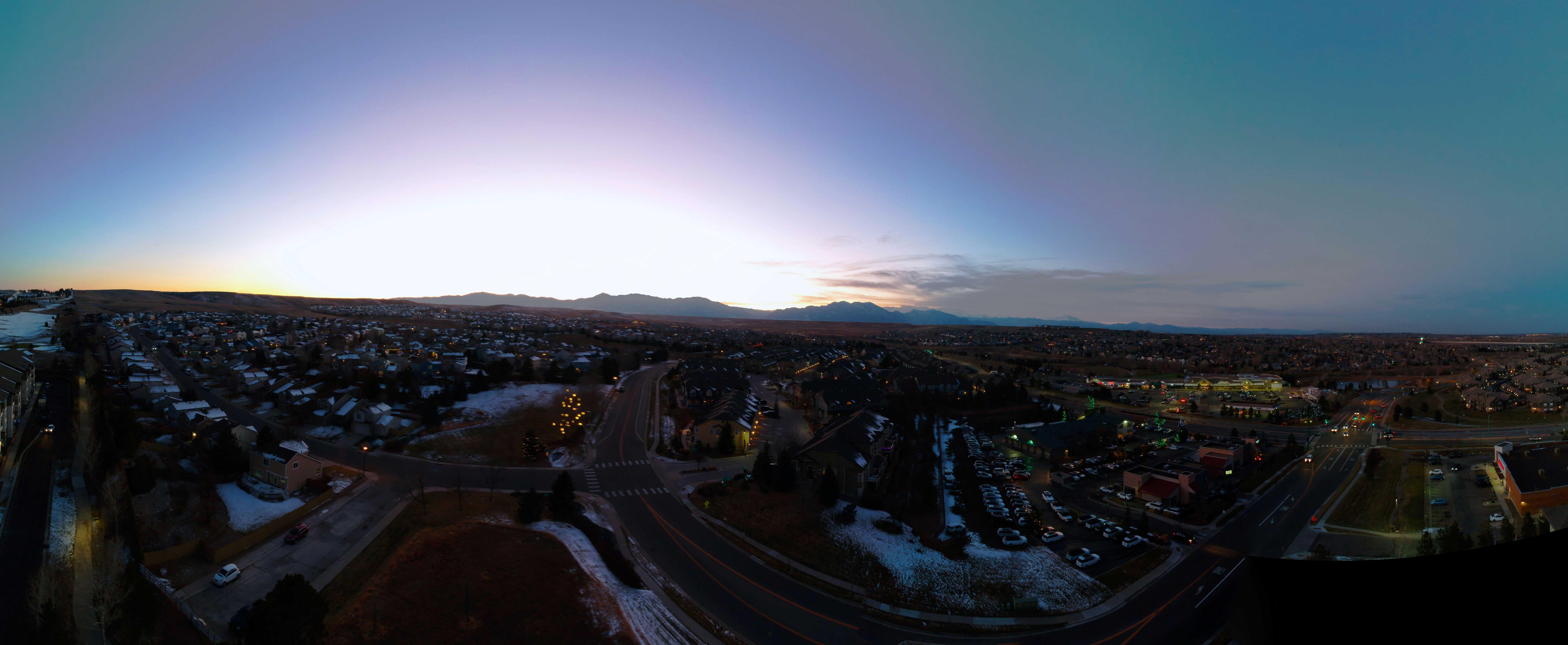 Sunset 180 Panorama - Broomfield, CO - Cannabenoid