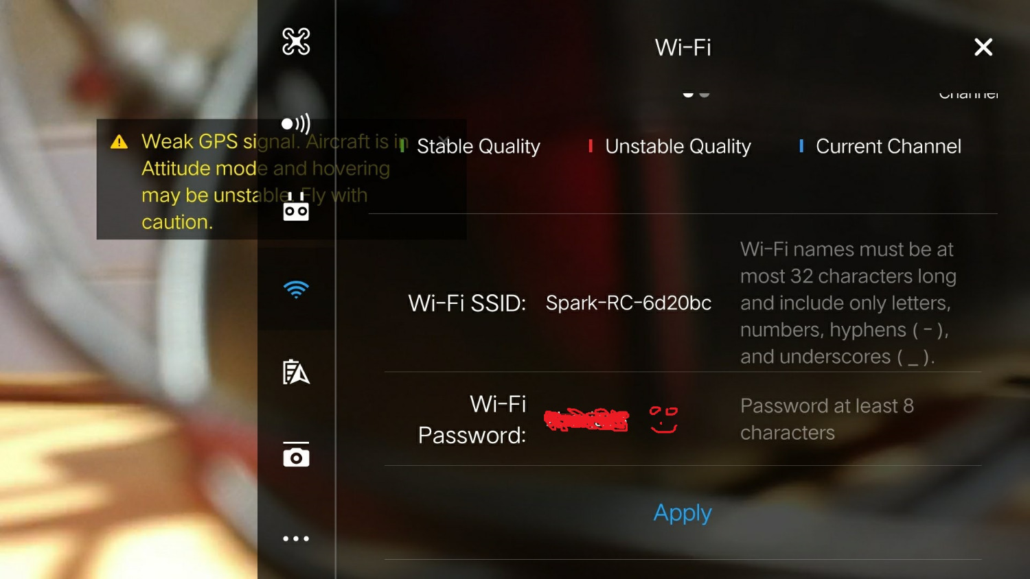 Spark RC Change SSID and Password | DJI FORUM