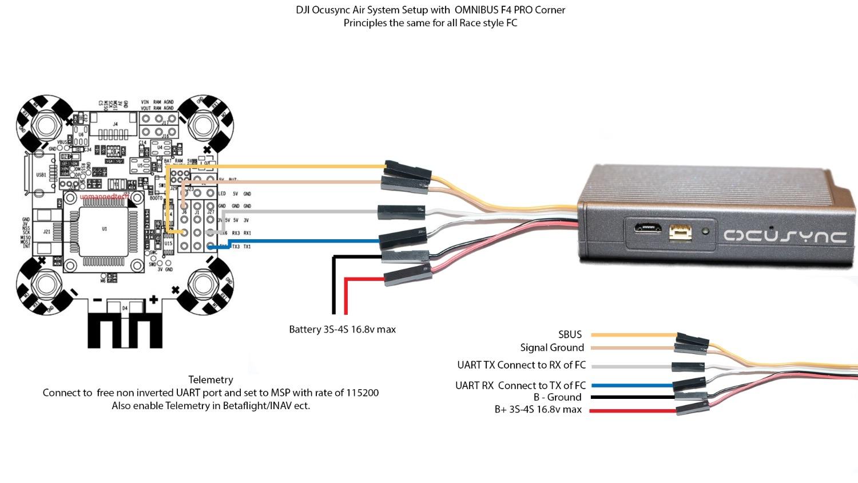 dji ocusync air system unbox dji forum naza lite wiring diagram dji phantom upgrade kit setup tutorial