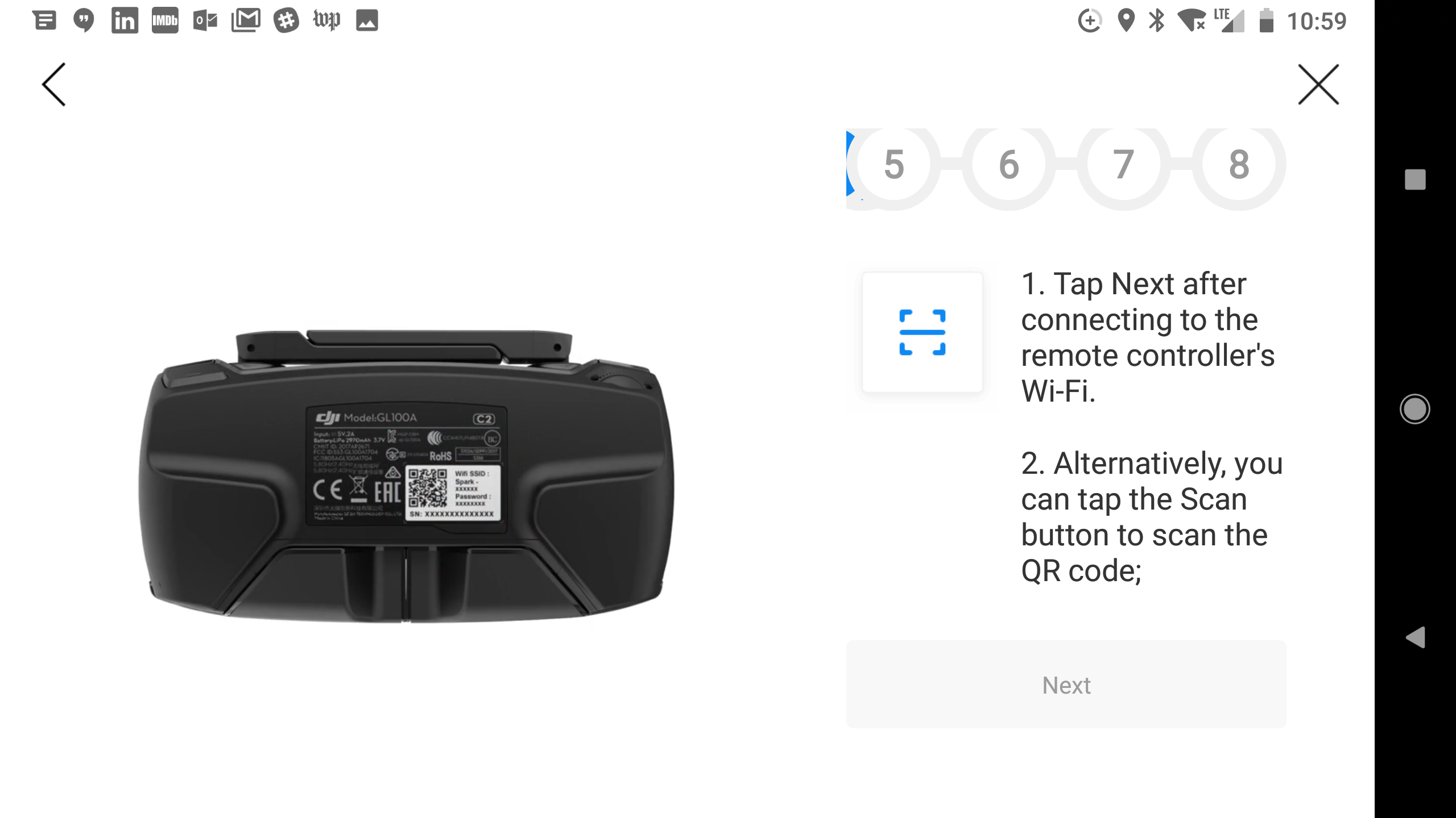 Too many steps to connect DJI Spark and Controller | DJI FORUM