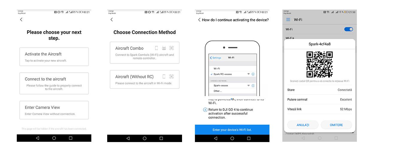 Reactivating Spark via wifi seems to be rocket science | DJI