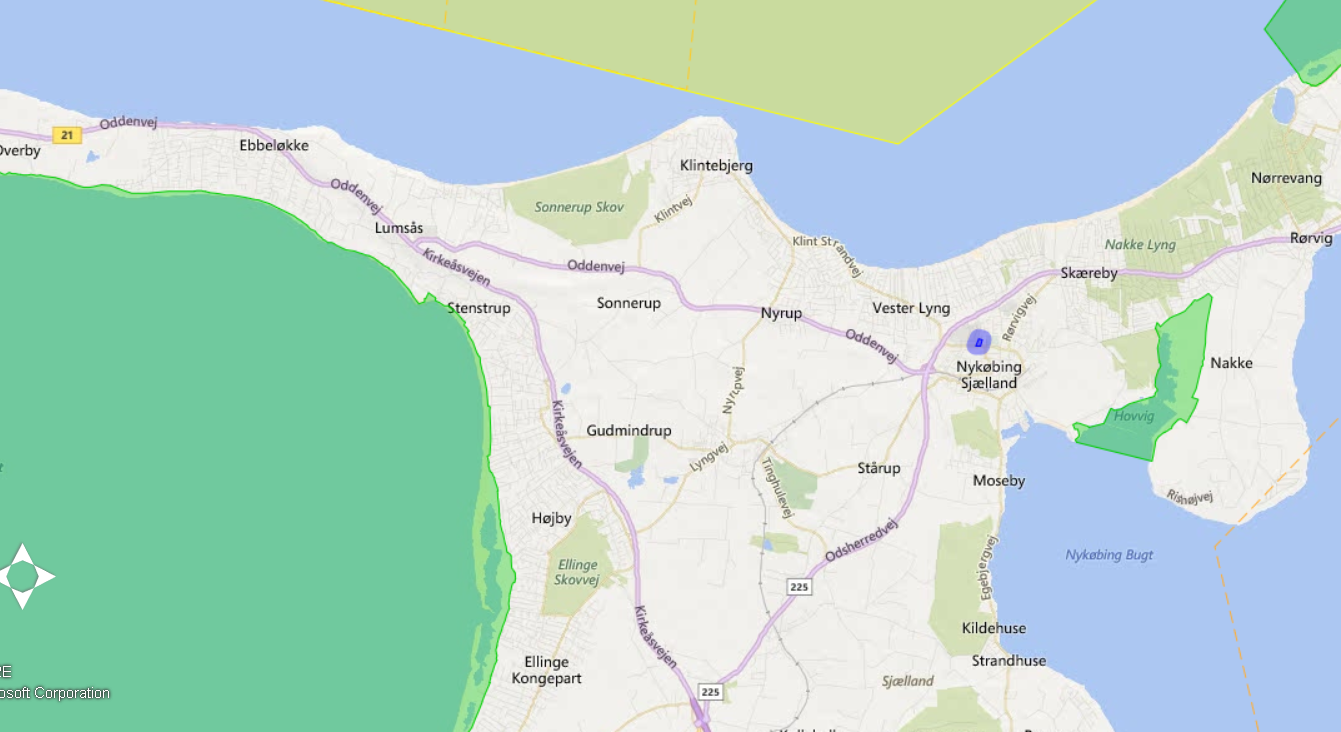 Official flysafe map