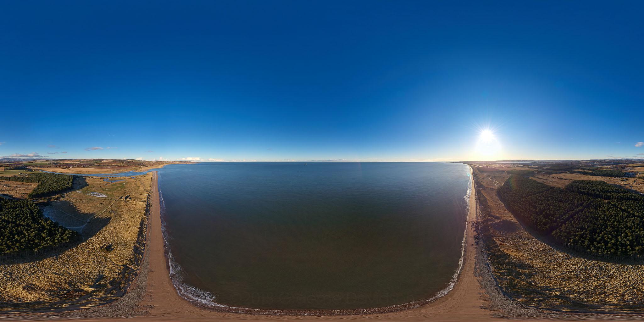 Montrose Beach, Near Kinnaber