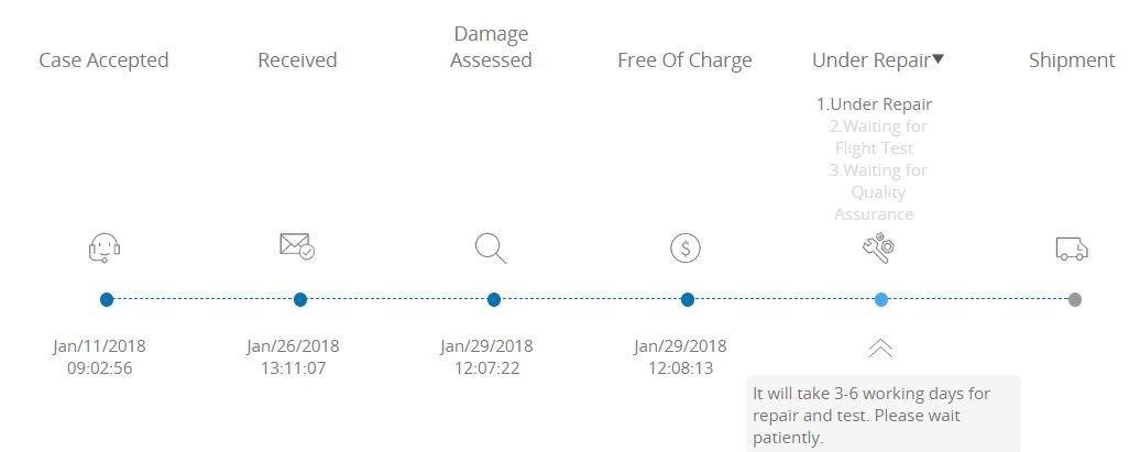 Repair Status 1-31-18.JPG