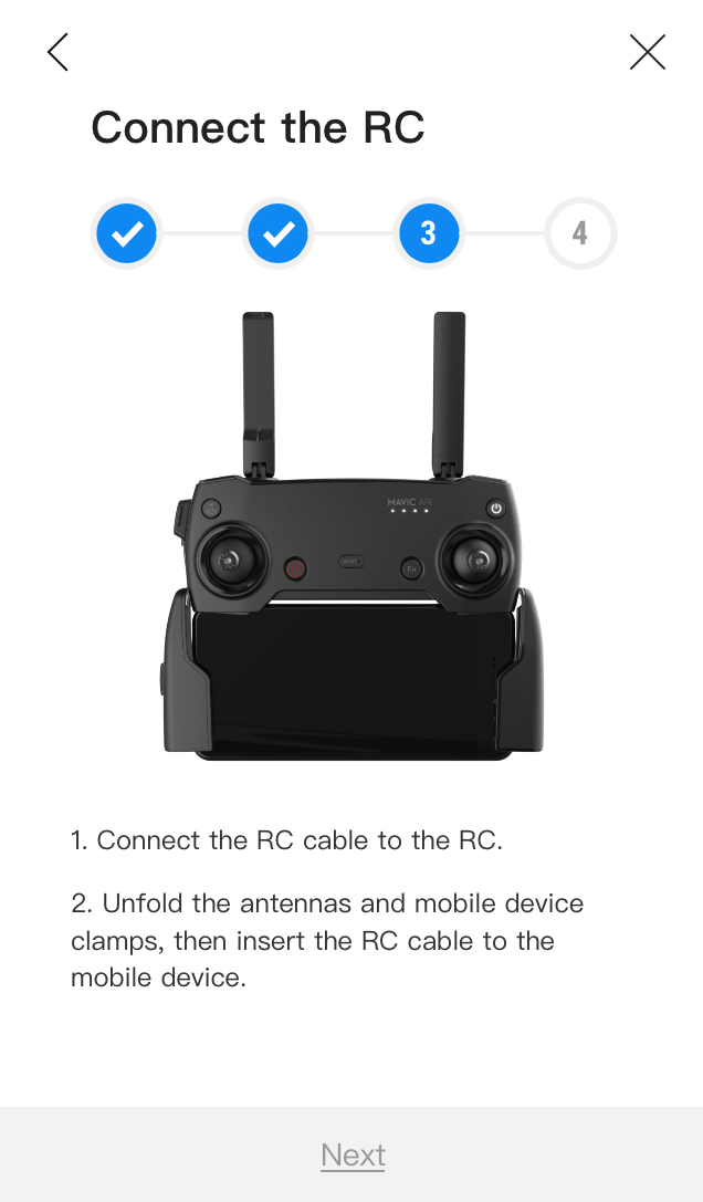 Mavic Air Controller Wired Connection Issues | DJI FORUM