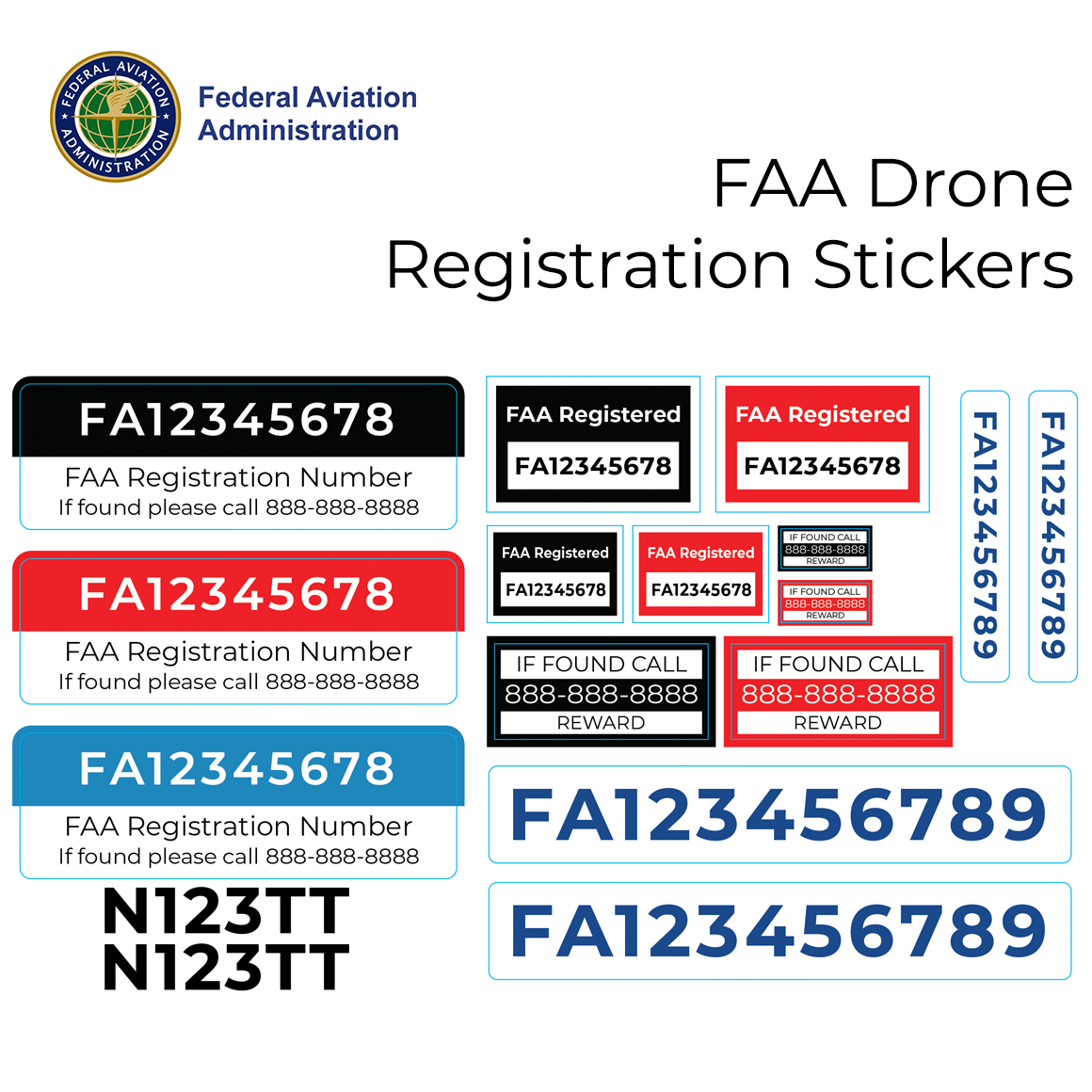 What is the best place to mark your FAA registration code on a ...