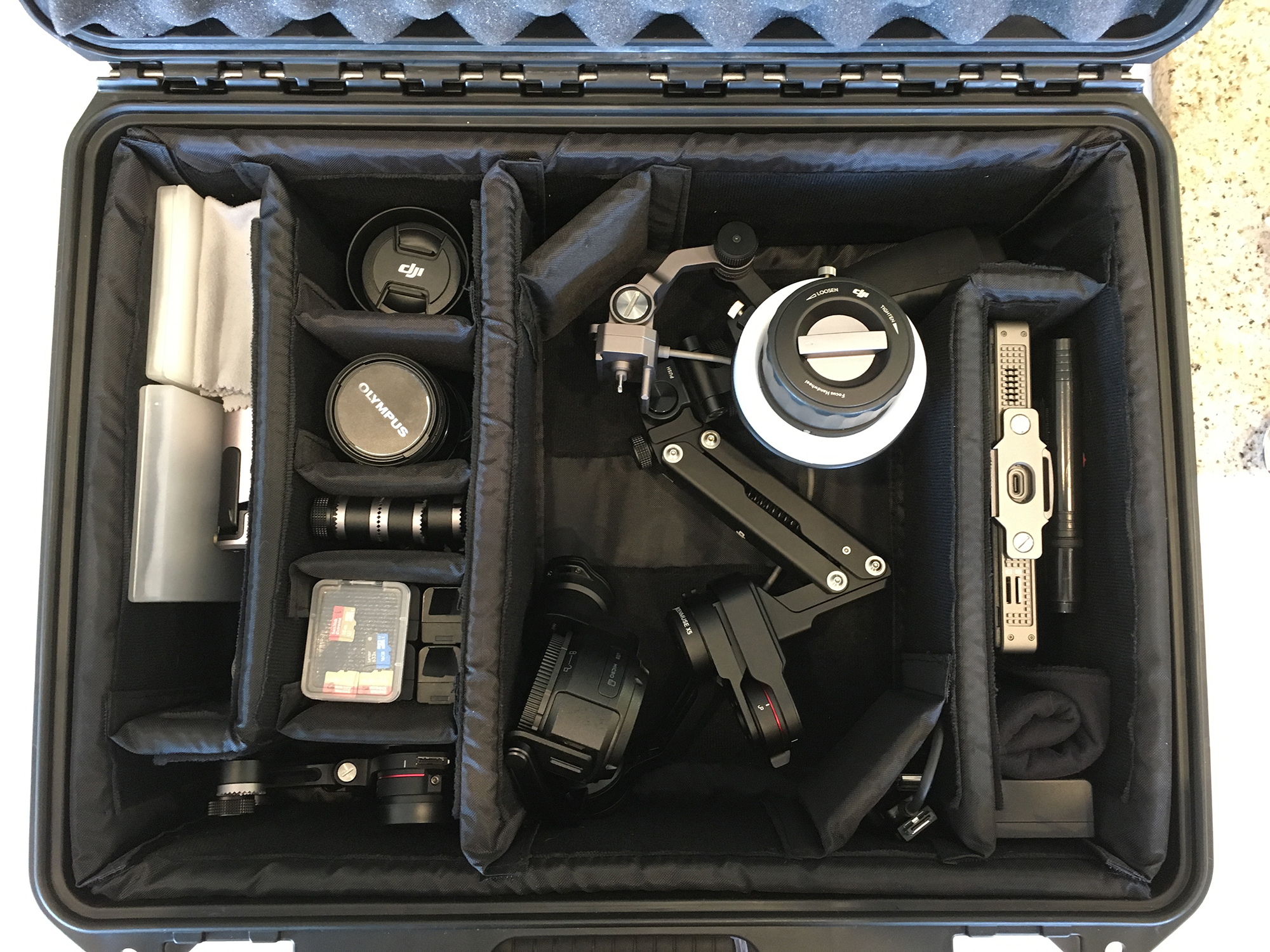 Osmo Pro Z-Axis Configuration Carry Case