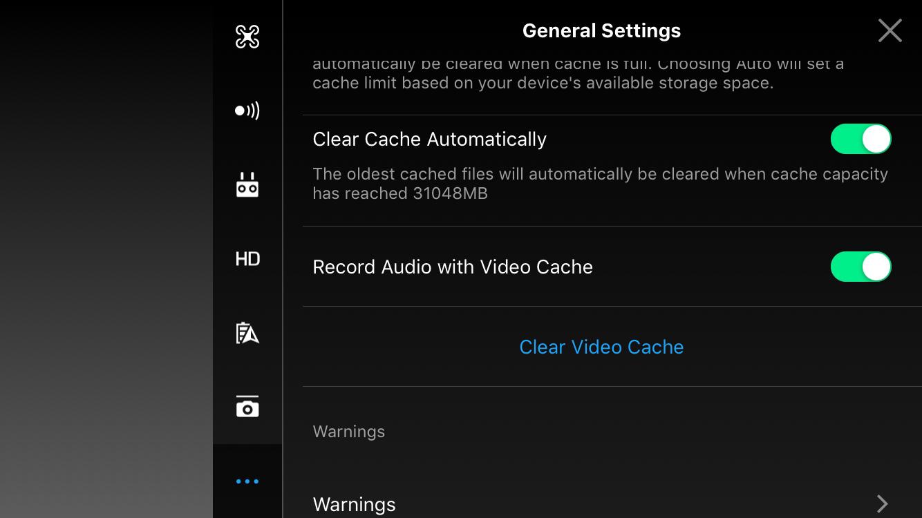 No sound when recording video | DJI FORUM