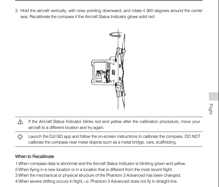 Compass Calibration Without Remote Dji Forum