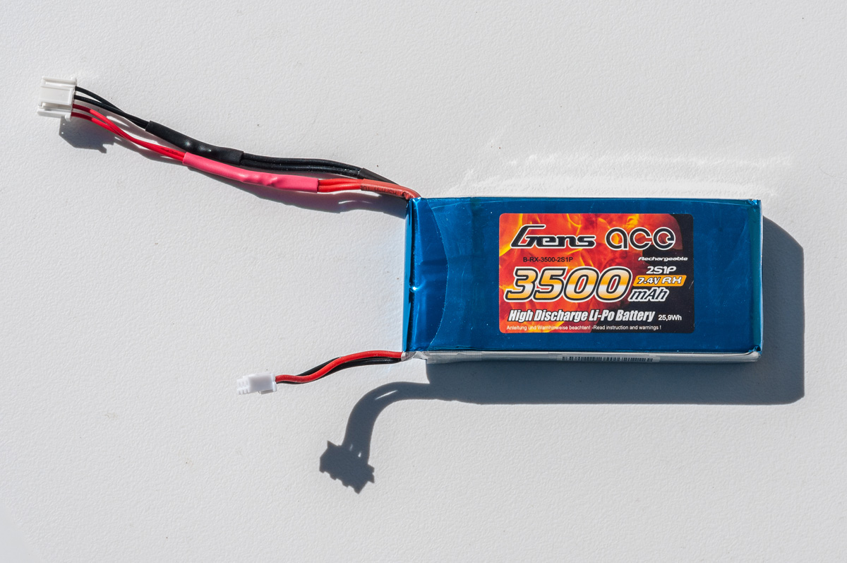 GensAce 2S1P battery
