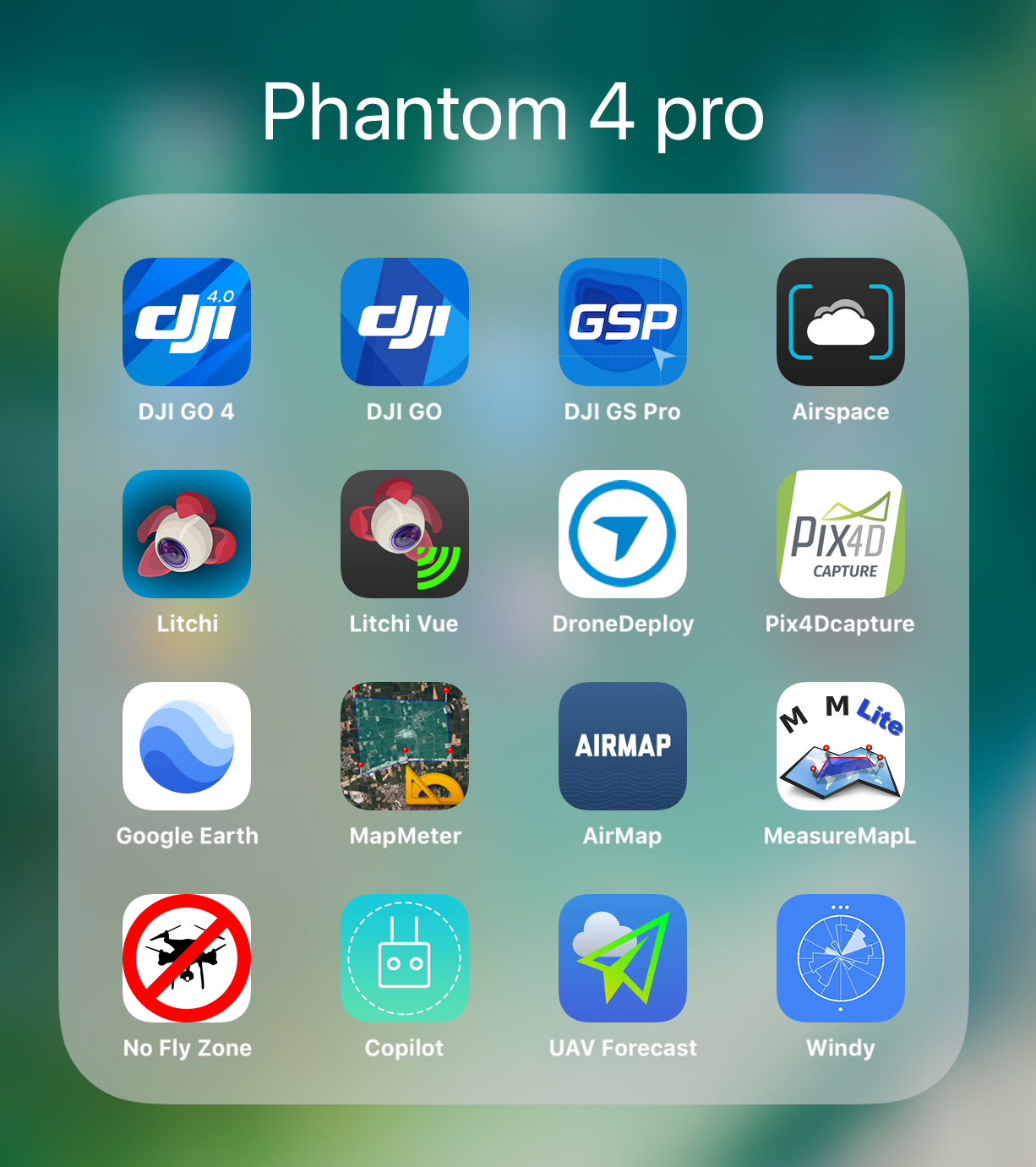 which iOS apps to use with your dji equipment ? | DJI FORUM