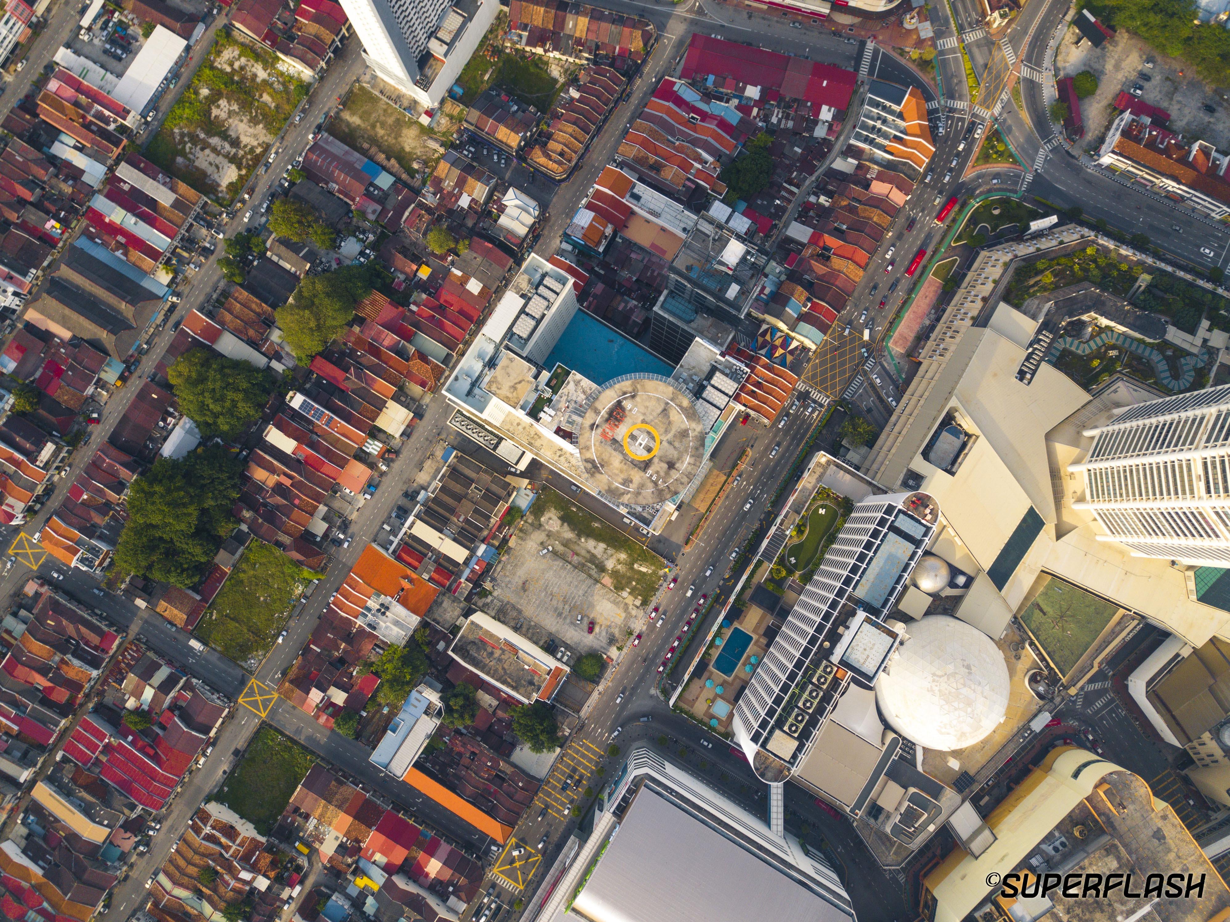 Town Center of Penang