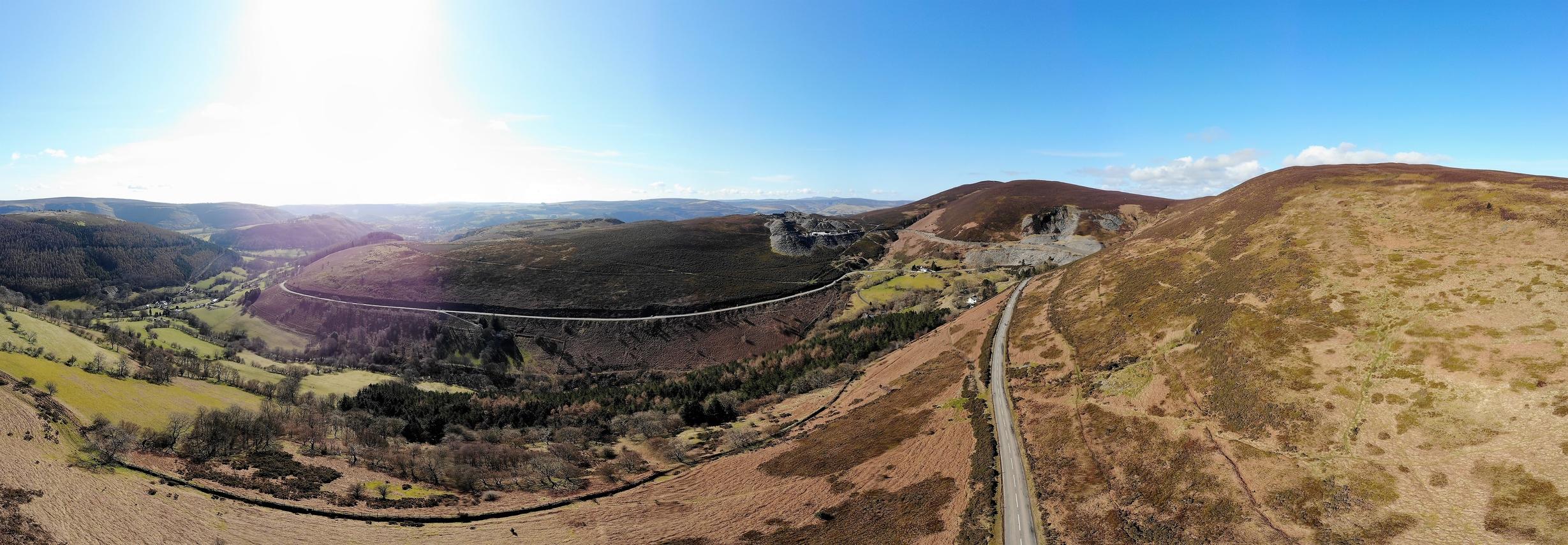 Horeshoe Pass North Wales