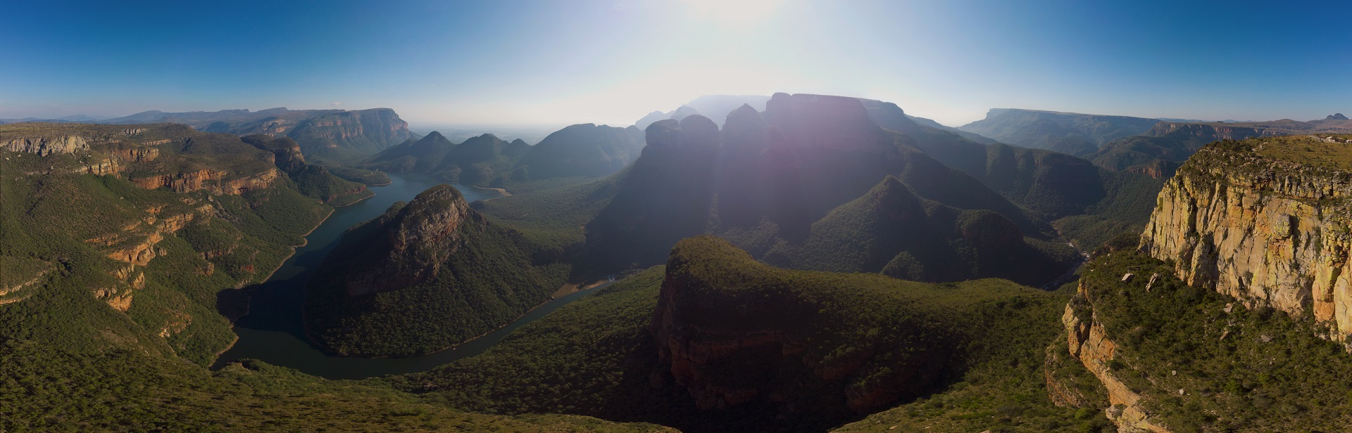 Three Rondavels Blyde River Canyon