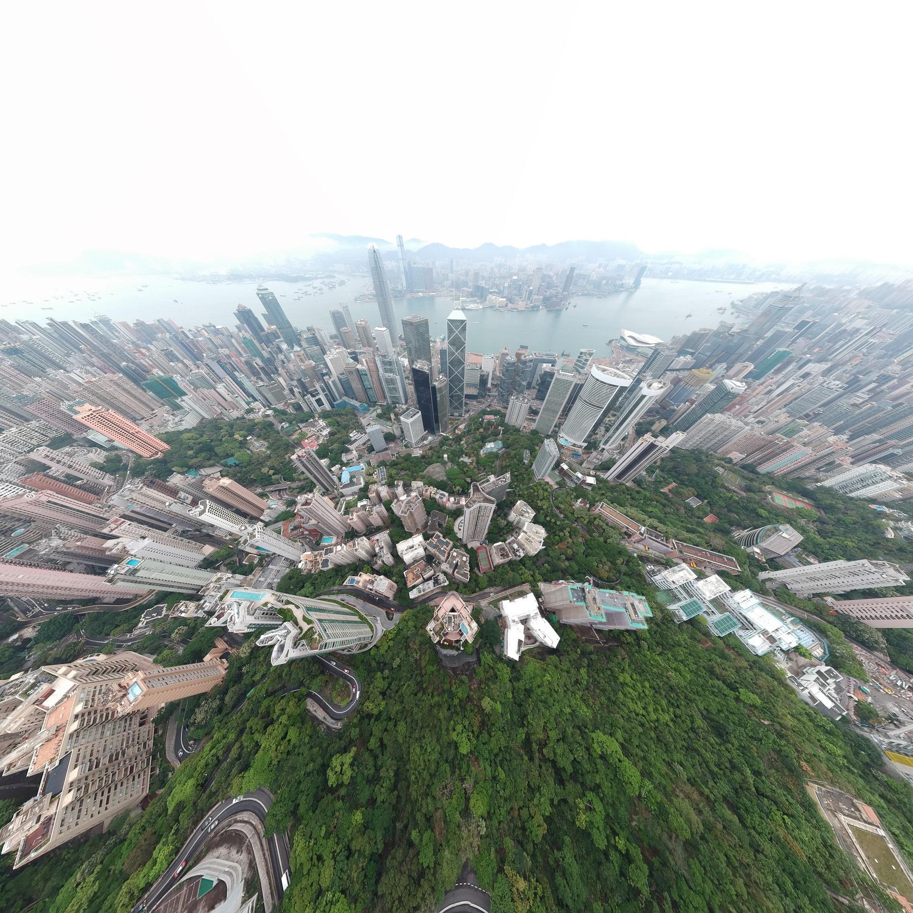 Hongkong Islan views with DJI Spark and Ms ICE