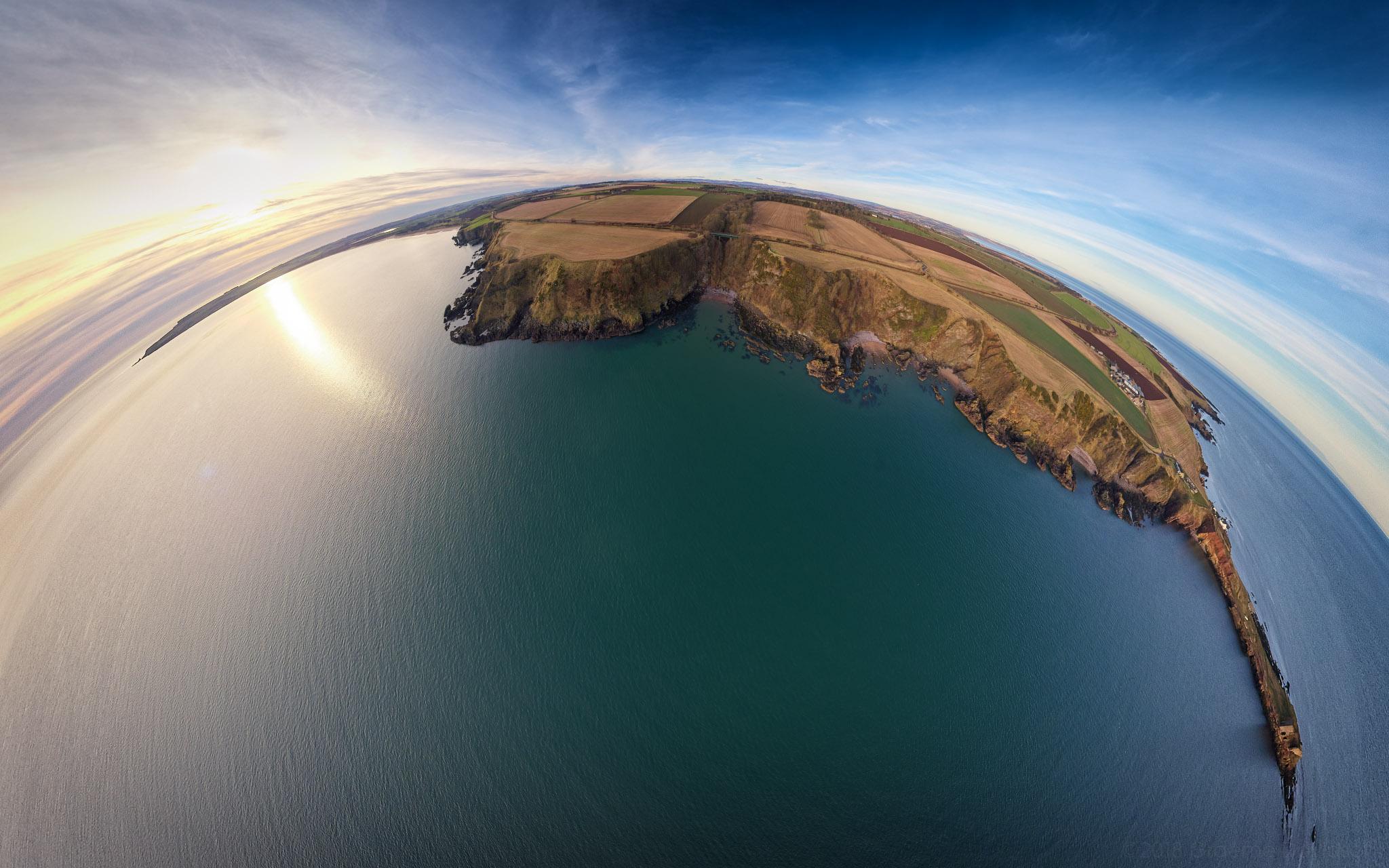 Auchmithie and Lunan Bay