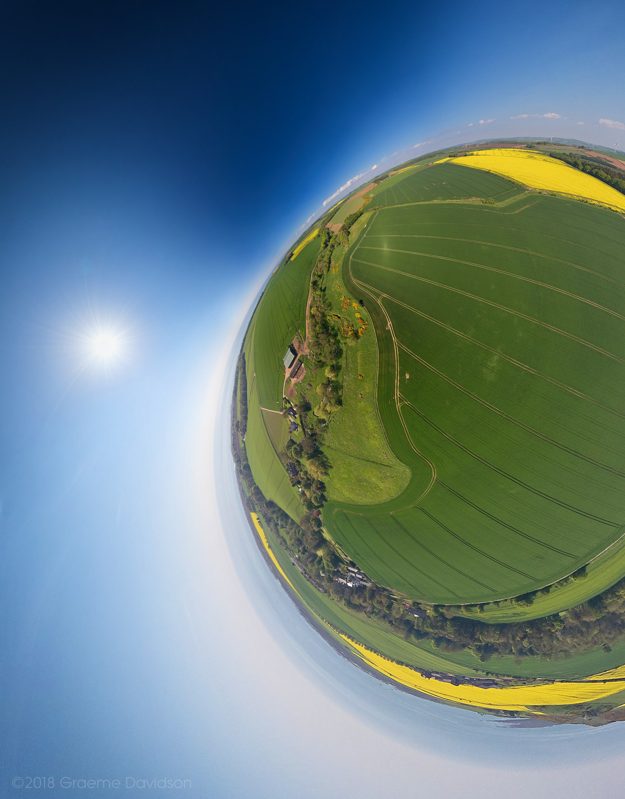 Upper Birnie - Little planet