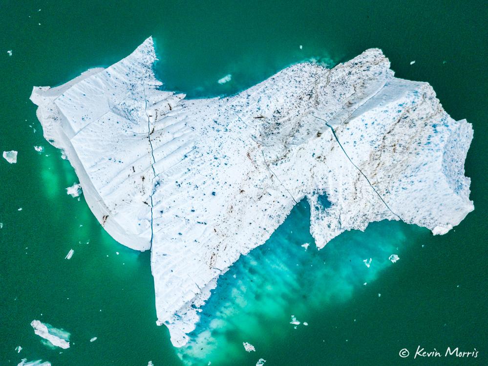 Iceberg - Le Conte Glacier, Alaska