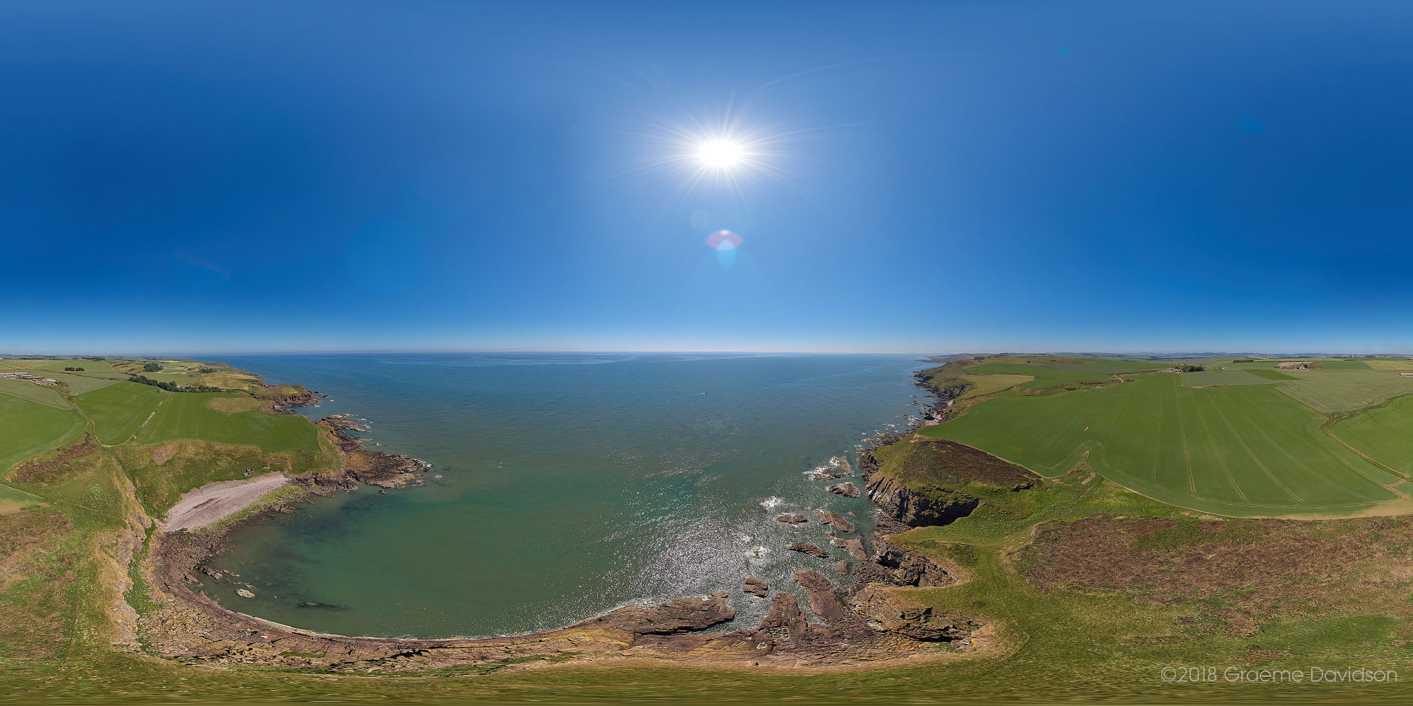 Grange Farm and Little Johns Haven Aerial Photosphere 30-06-2018b Small.jpg