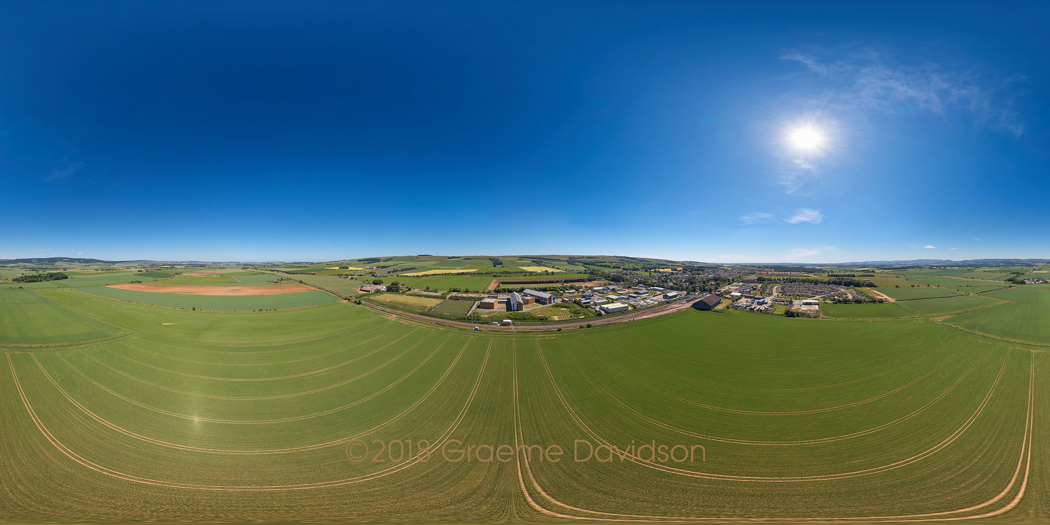Laurencekirk Aerial Photosphere 01-07-2018a Small.jpg