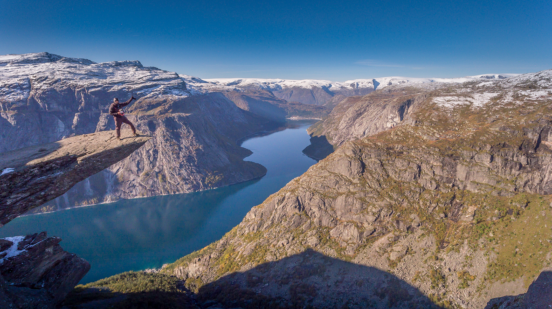 Phantom 4 - TrollTunga Norway