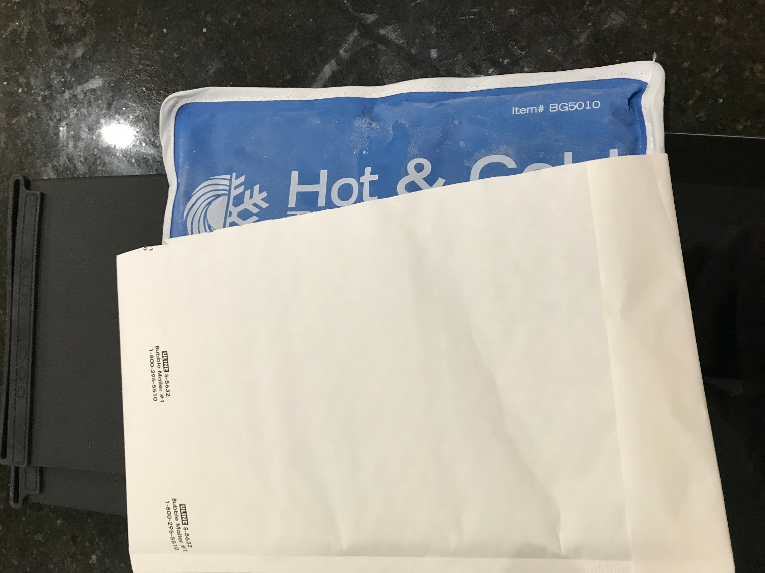 Gel Pack into Envelope