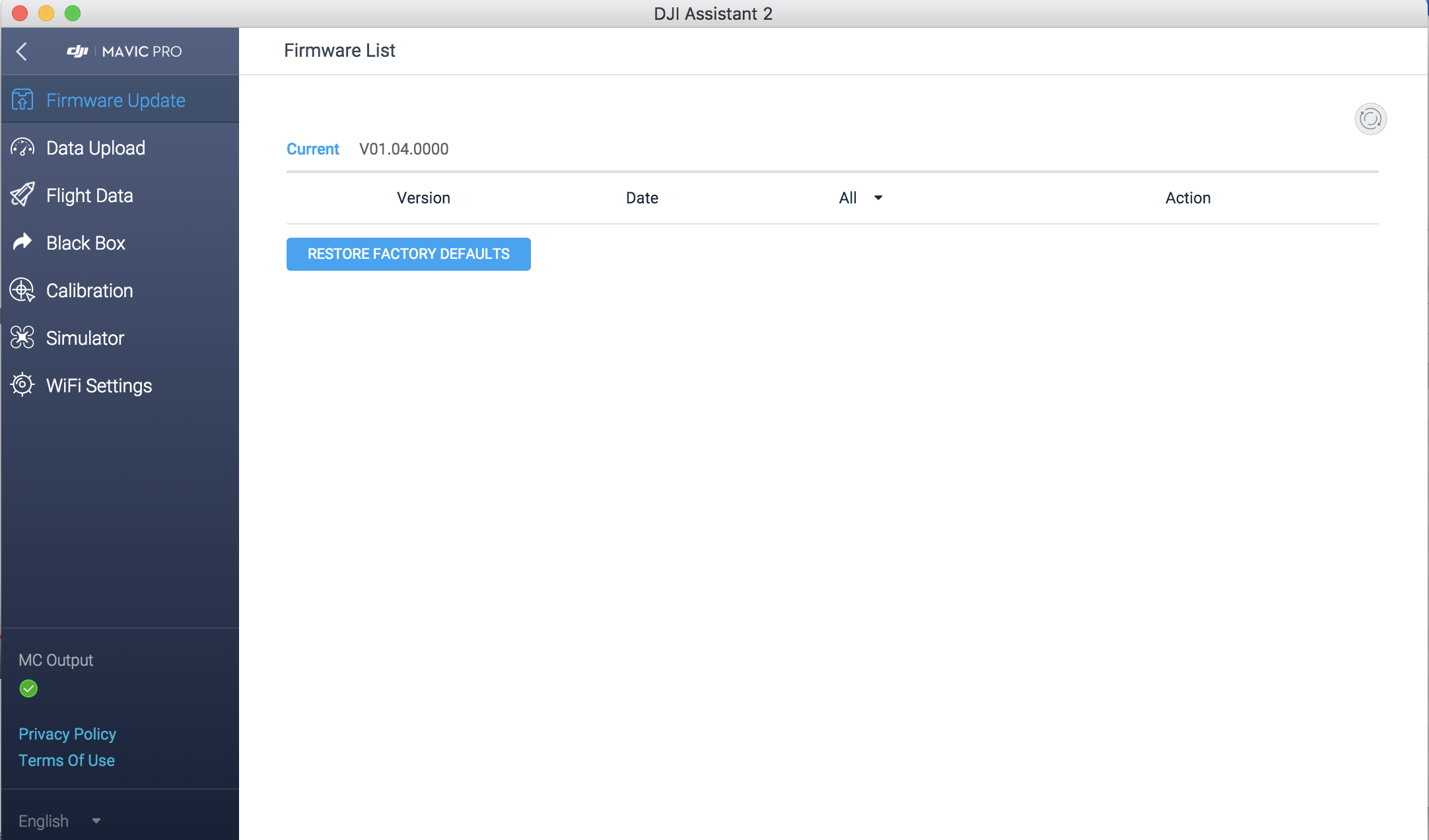Firmwareupdate with Assistant Software | DJI FORUM
