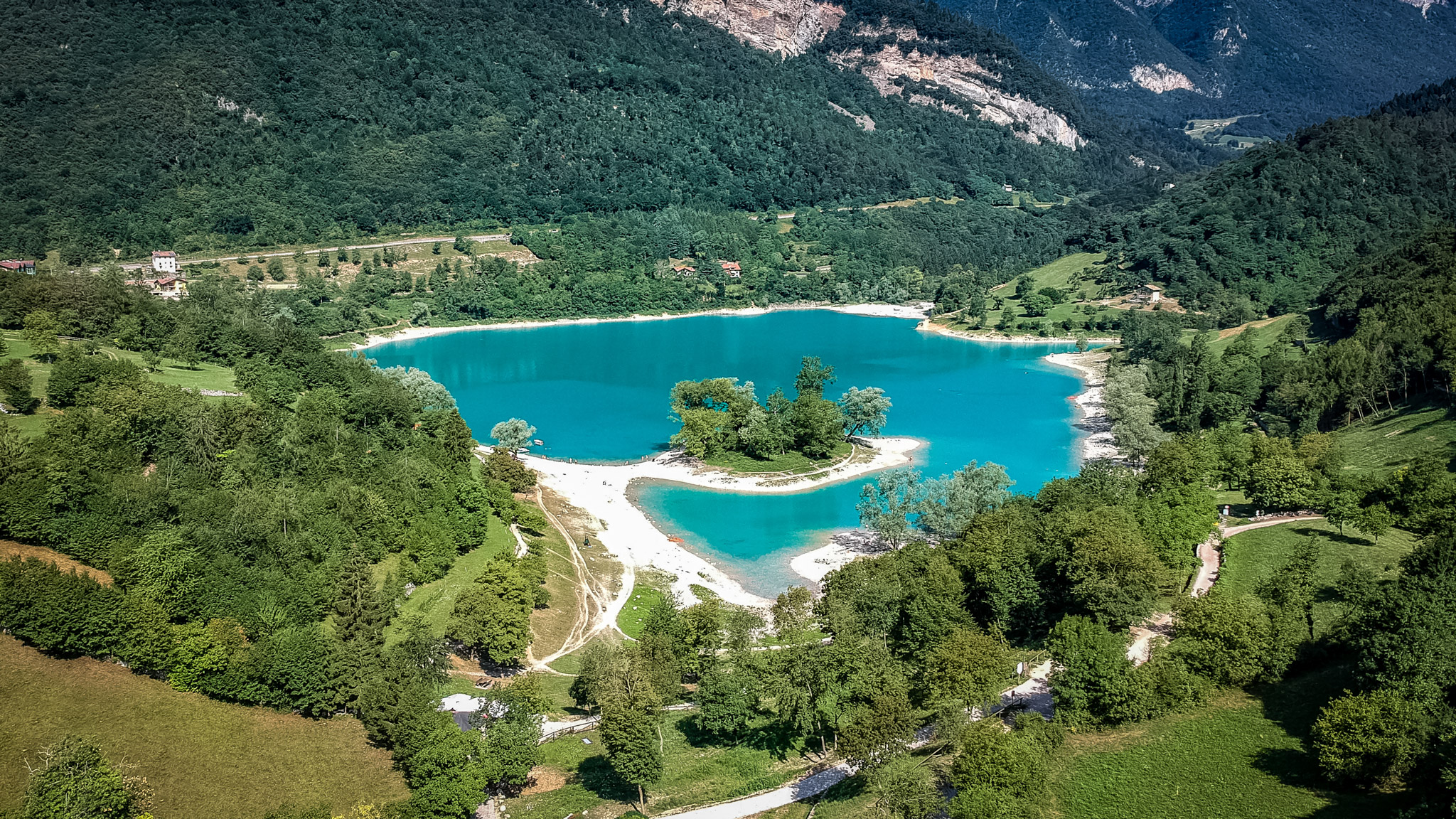 Lake Tenno, Italy