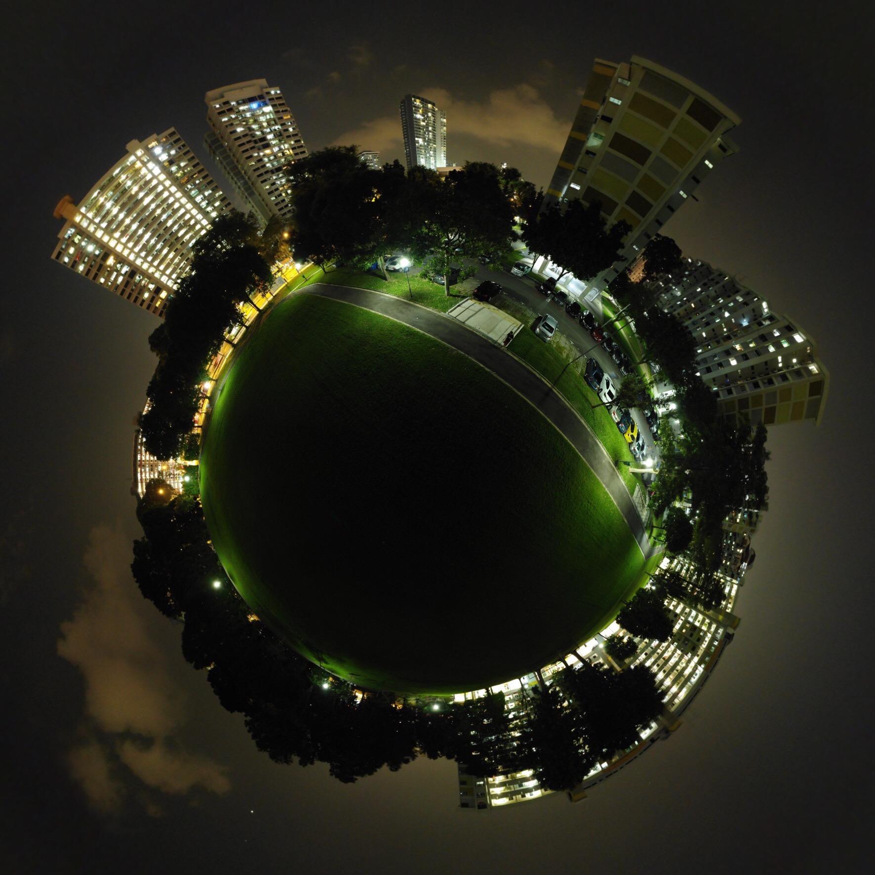 Tiny Planet Photo