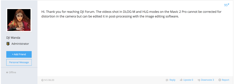 Lens Distortion-Quick Fix (Adobe Premiere Pro CC) | DJI FORUM