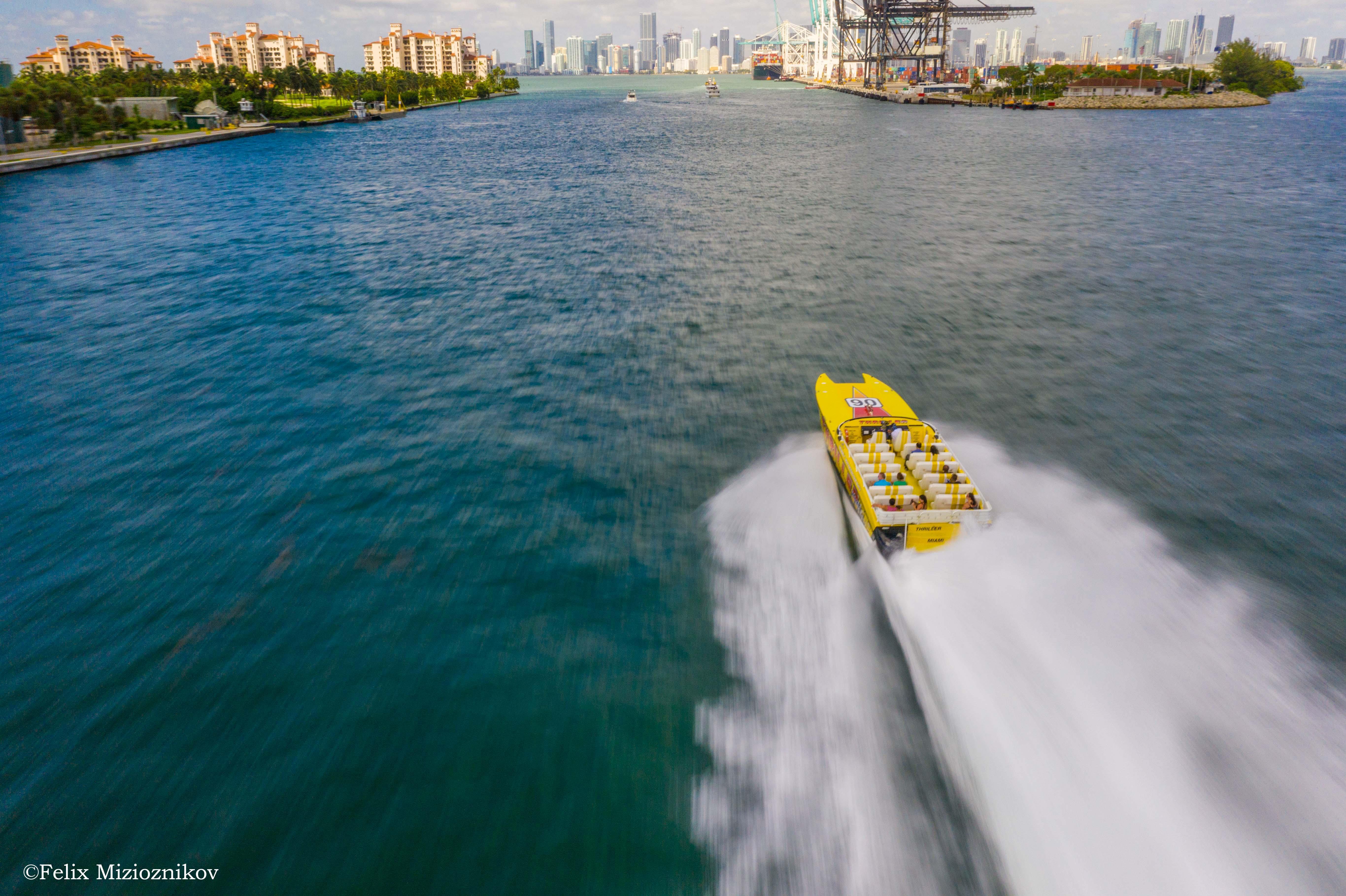 Chasing Thriller Speedboat