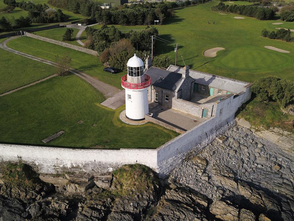 Ballinacourty Point Lighthouse