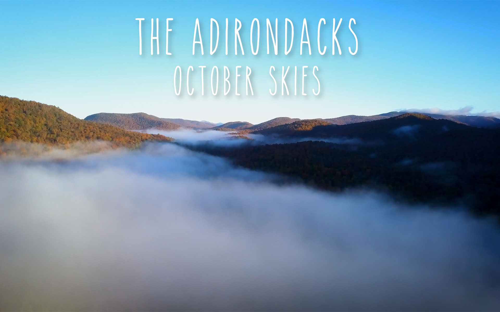 ADK October Skies