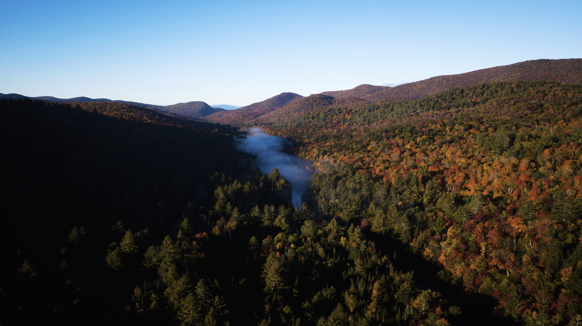 Adirondacks: Misty Morning