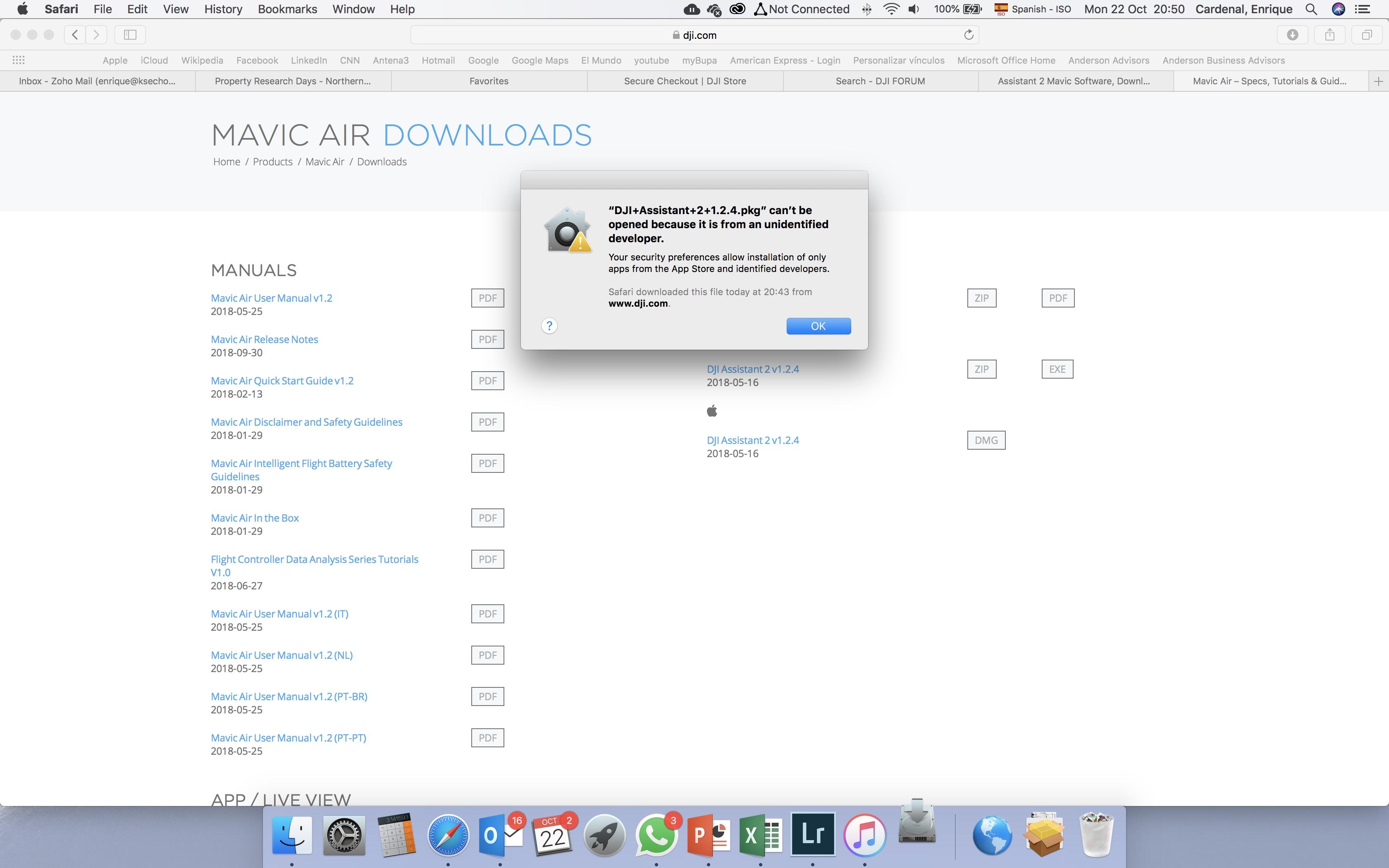 DJI Assistant 2 Mavic software incompatibility??? | DJI FORUM