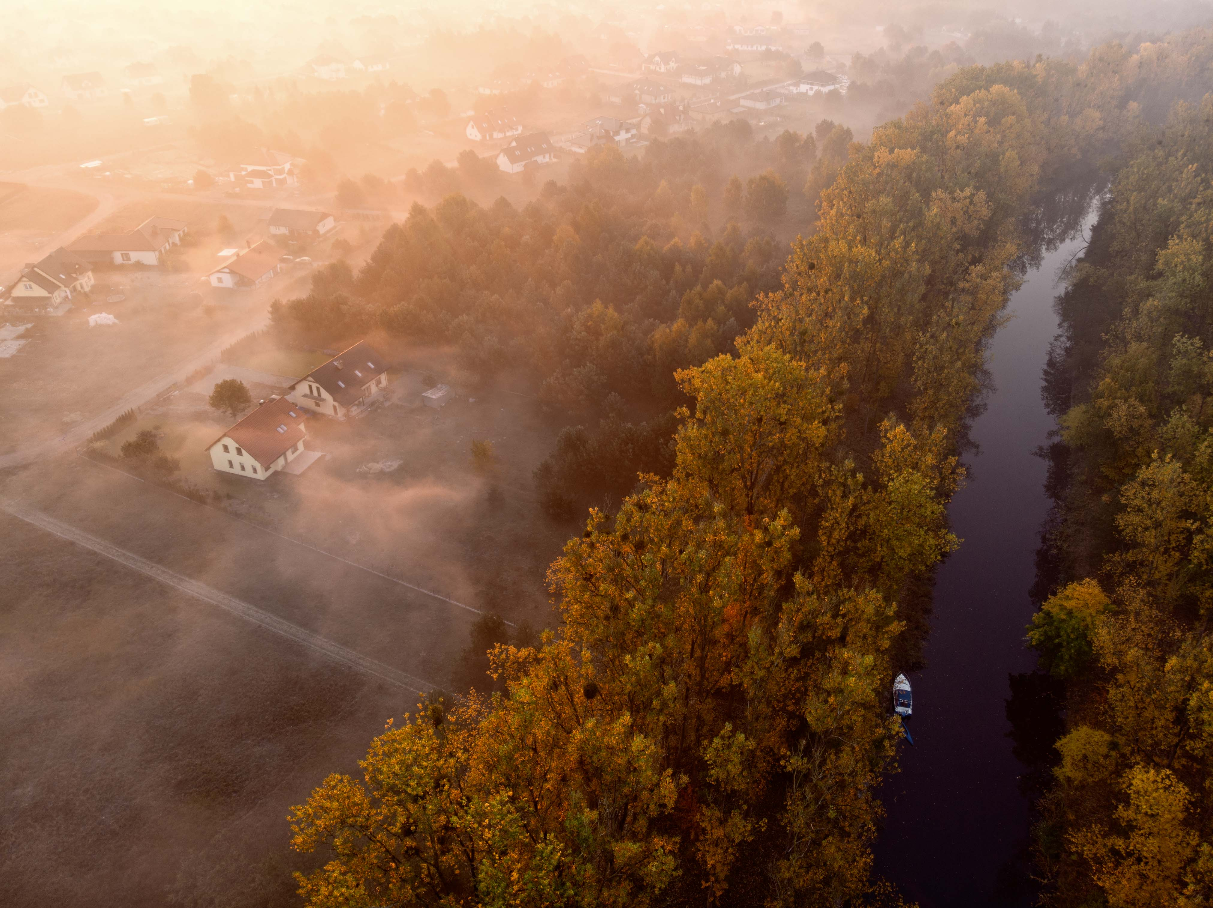 Gornonotecki Canal, Poland, Mavic Air
