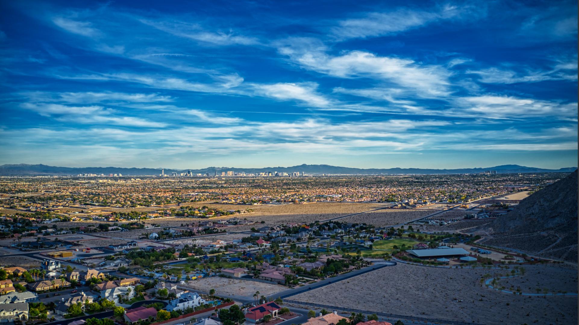 Vegas Strip from Lone Monuntain
