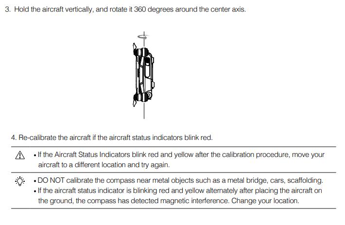 DJI Spark Compass Calibration | DJI FORUM
