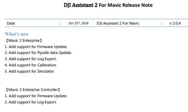 DJI Assistant 2 for Mavic 2 v2.0.4.JPG