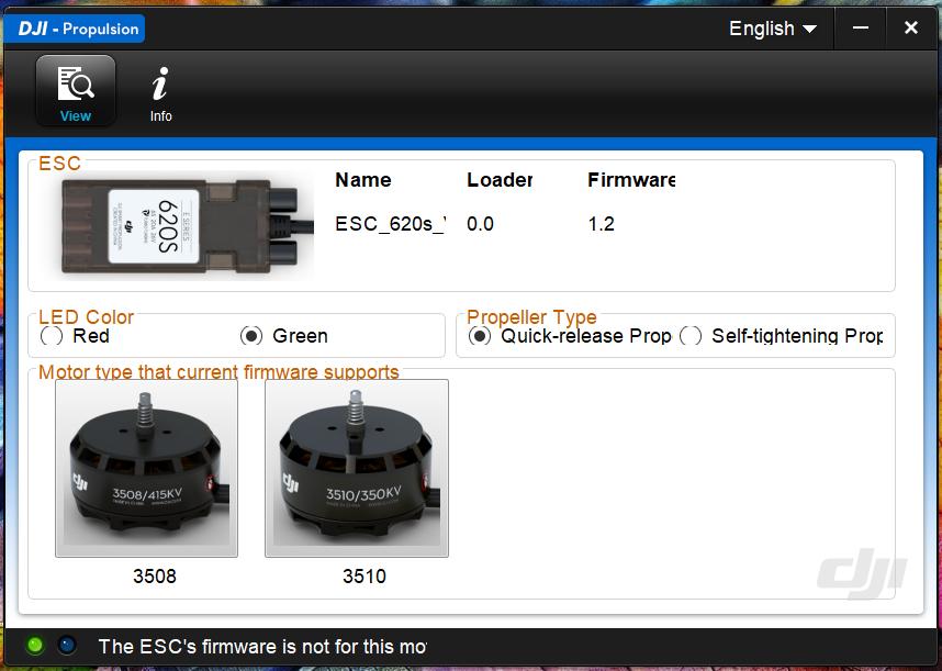 esc firmware