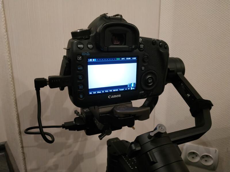 Testing Ronin S + Canon 5d3 (Magic Lantern) + follow focus