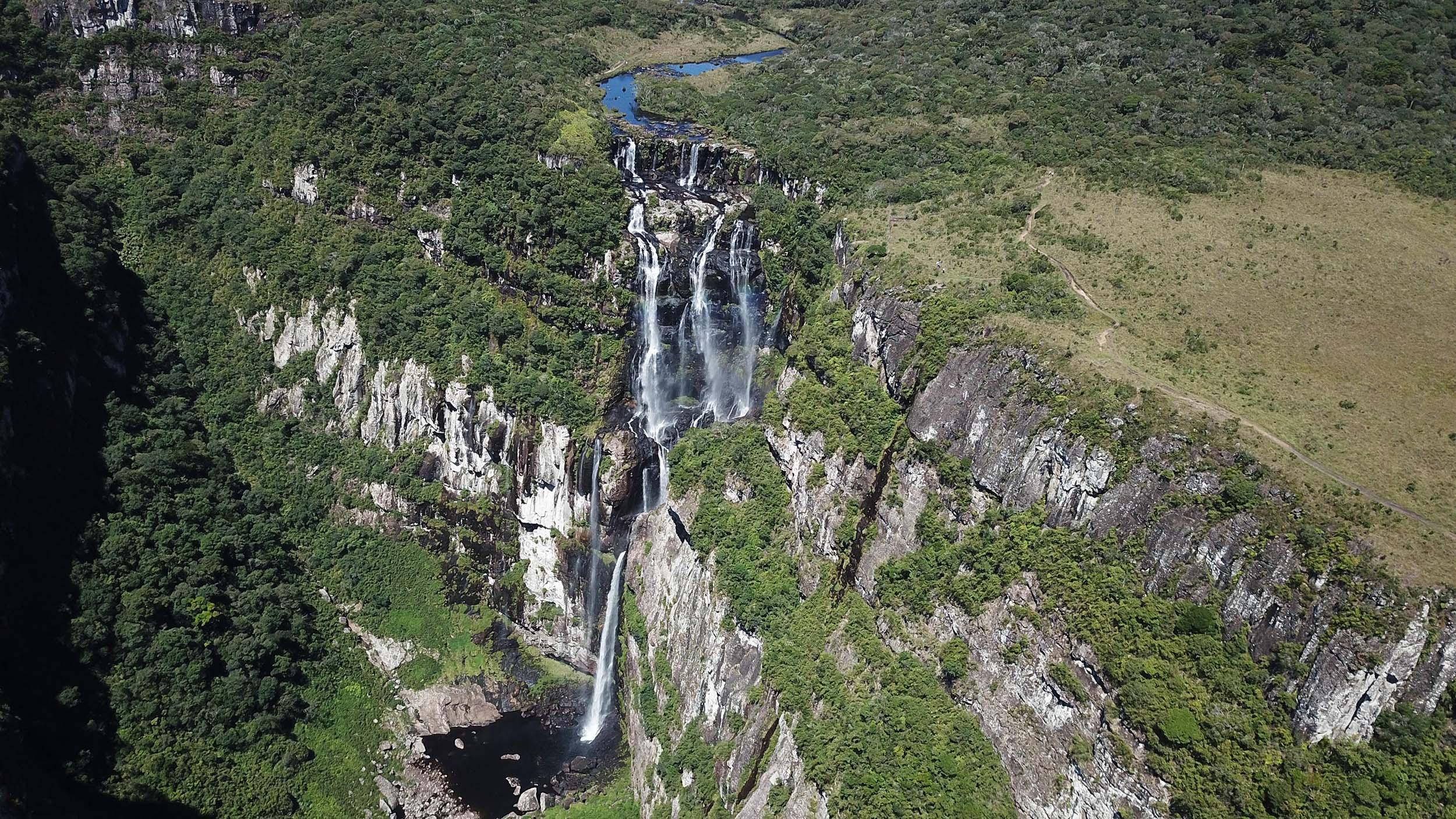 The Tigre Preto Waterfall - Brazil
