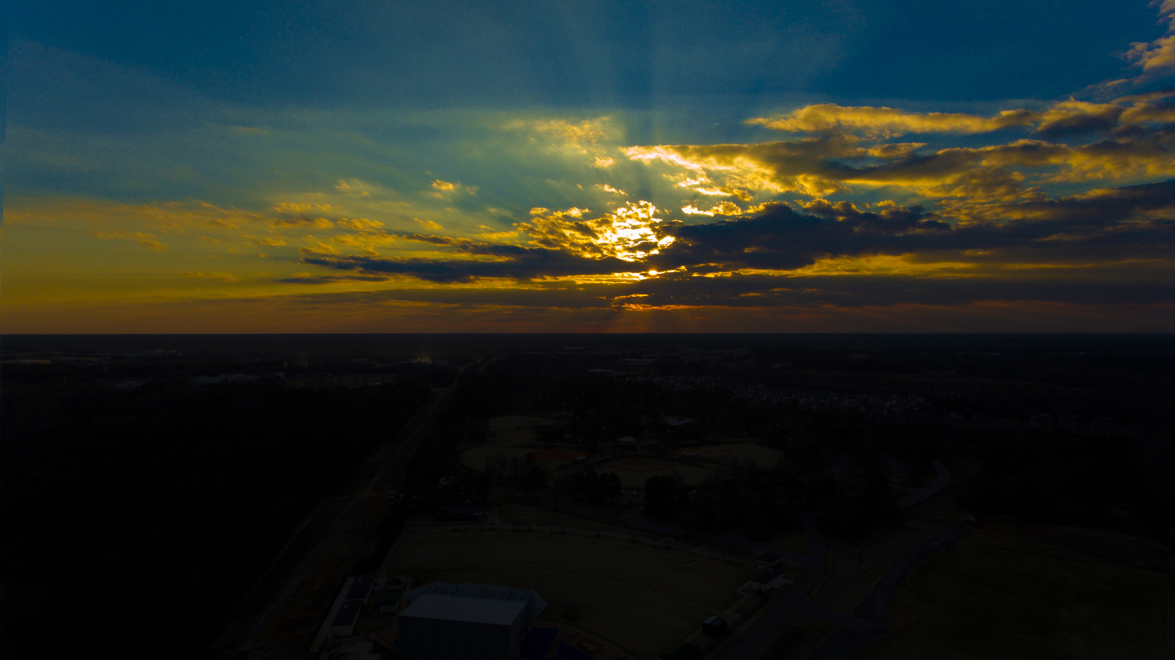 Sunset at Heritage Park