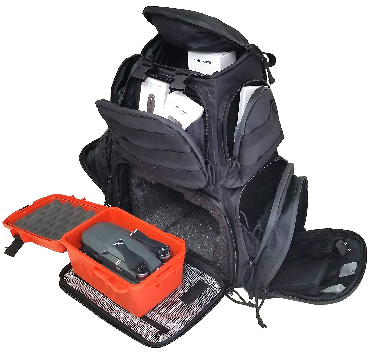 Case Club Backpack & Plastic hardbox