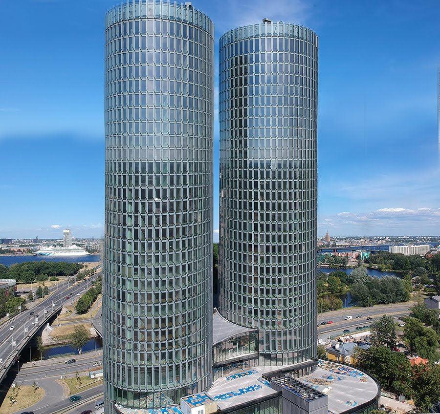 Z Towers in Riga