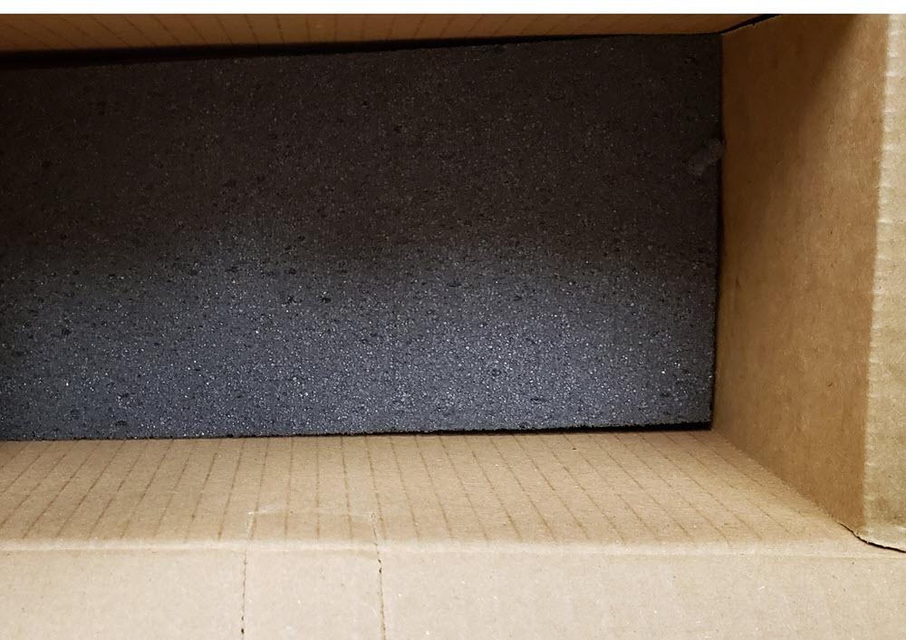 Foam bottom box