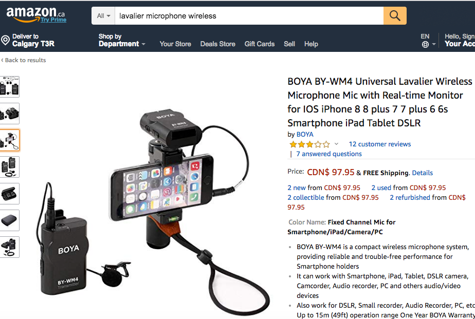 Osmo Mobile 2 external microphone (wired or wireless) | DJI