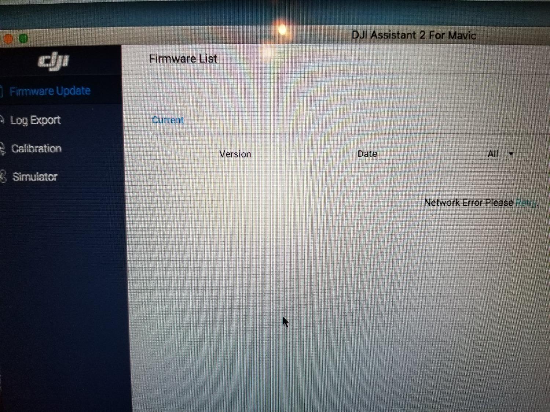 New Mavic 2 Assistant Not showing Firmware | DJI FORUM